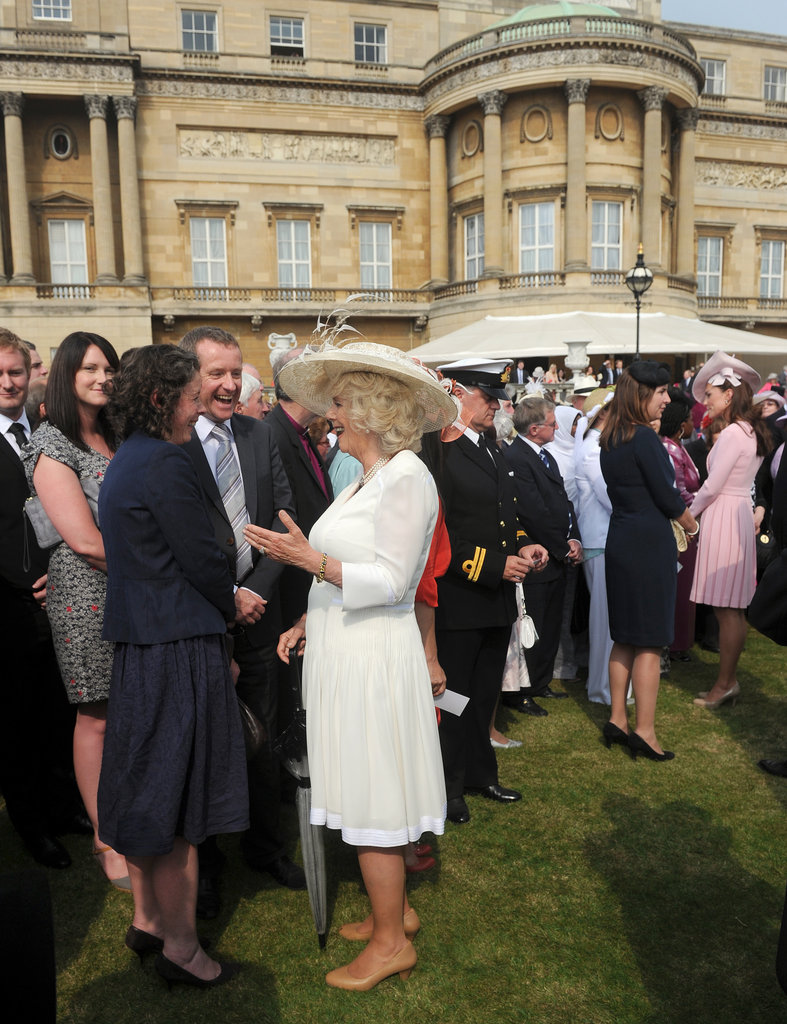 Kate Middleton and Camilla Parker Bowles greeted guests.