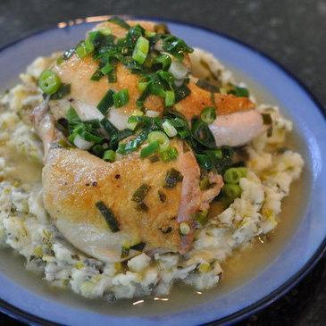 Braised Scallion Chicken