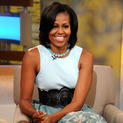 The Michelle Obama Look Book 2012