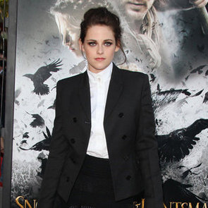 Kristen Stewart Pictures in Black and White at Snow White and the Huntsman LA Screening