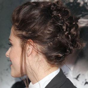 Kristen Stewart's Braided Hairstyle