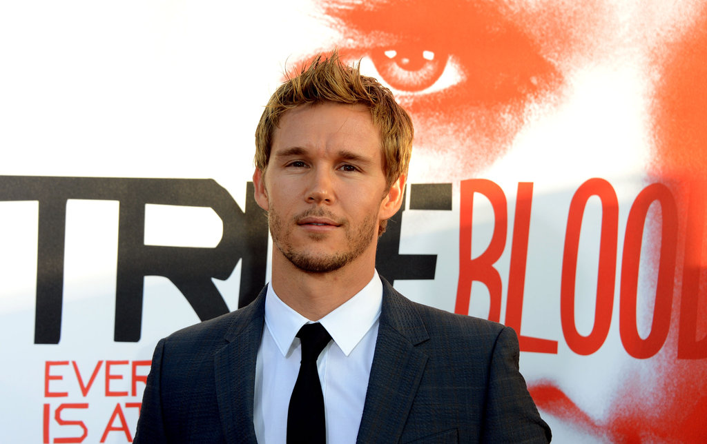 Ryan Kwanten came out for the True Blood season five premiere in Hollywood.