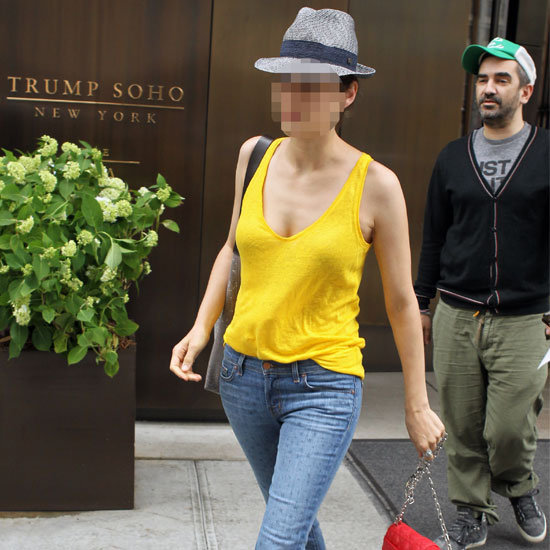 Can You Guess The Stylish Celebrity Snapped On the Streets of Soho? Name the Face of the Designer Bag Line!