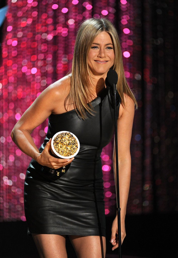 Jennifer Aniston Pictures at MTV Movie Awards 2012 ...