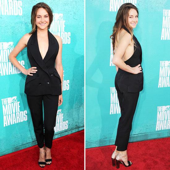 Shailene Woodley at MTV Movie Awards 2012