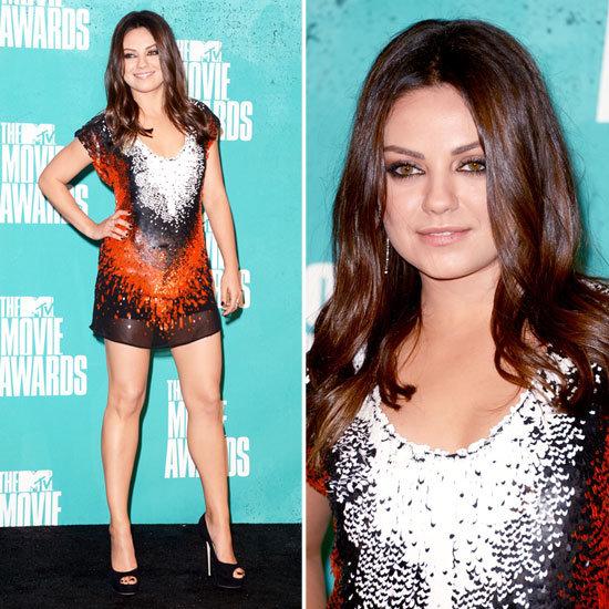 Mila Kunis at MTV Movie Awards 2012