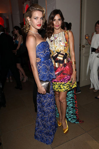 Natalia Vodianova and Astrid Munoz