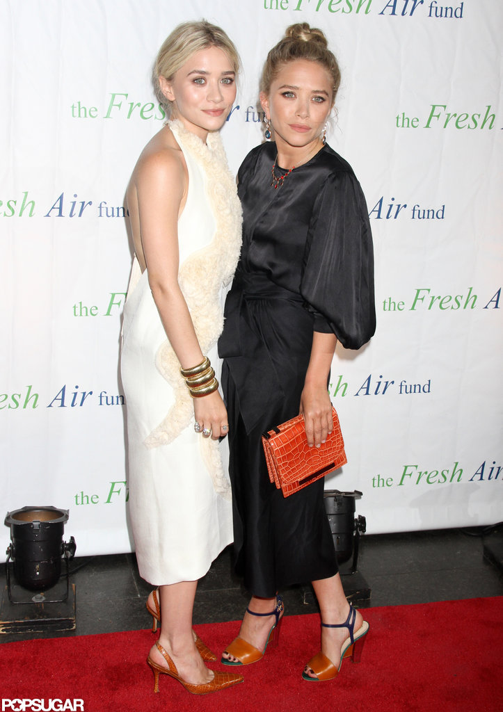 Mary-Kate Olsen and Ashley Olsen stepped out in NYC for the Fresh Air Fund's Spring Gala.