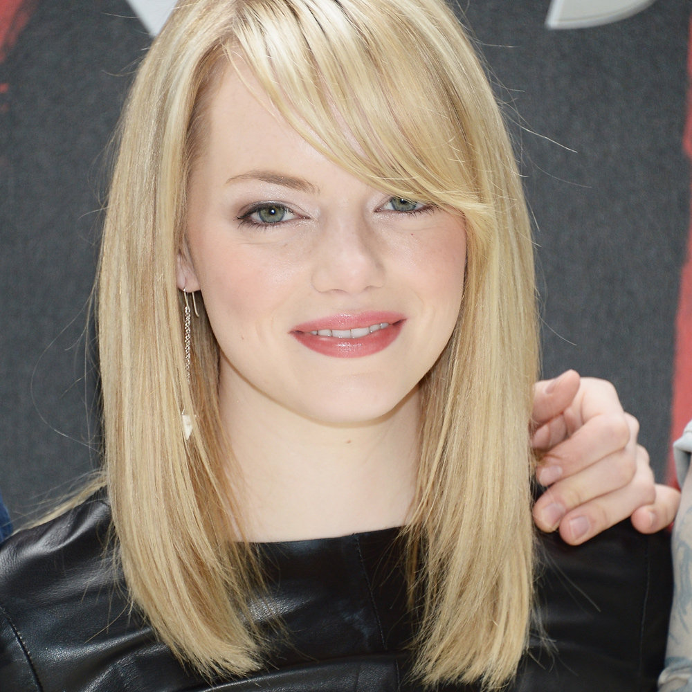 Emma Stone S Blonde Hair Looked Super Bright And Healthy