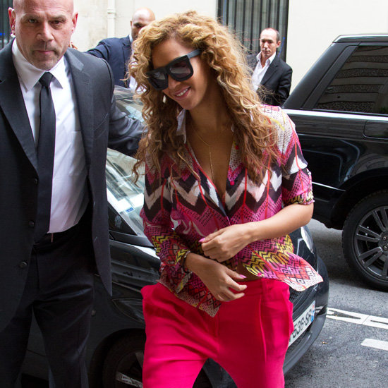Beyonce Zig Zag Colorful Blouse