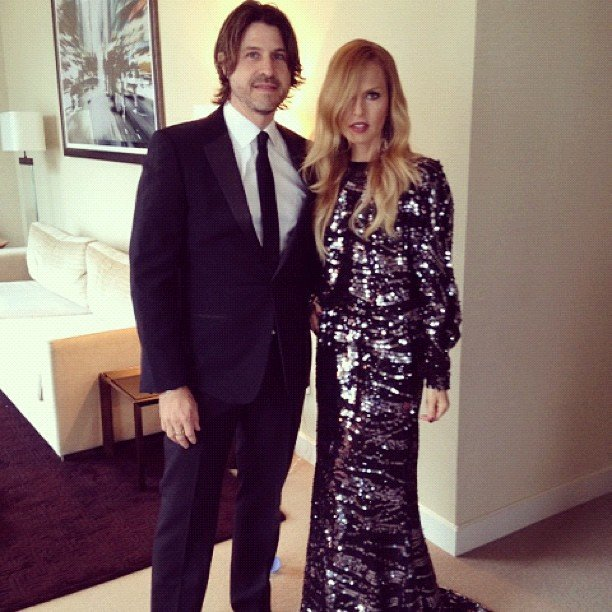 Rachel Zoe posed for a photo with her husband, Rodger Berman, prior to the CFDA Awards in NYC. Source: Instagram user rachelzoe
