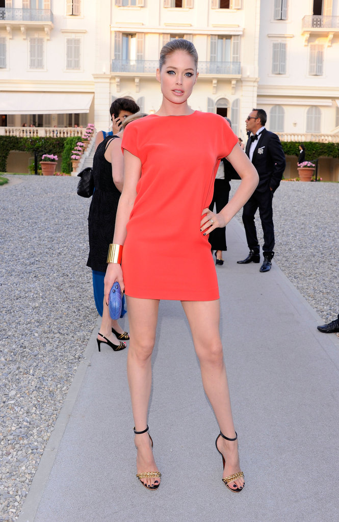 Doutzen Kroes at amfAR's Cinema Against AIDS 2011 Gala at Cannes in May 2011.