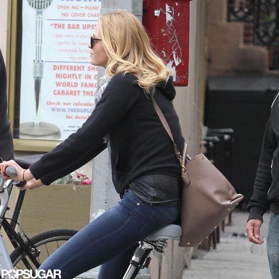 Erin Heatheron rode her bike around NYC.
