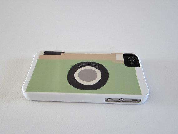 Red Tile Studio Retro Camera iPhone Case