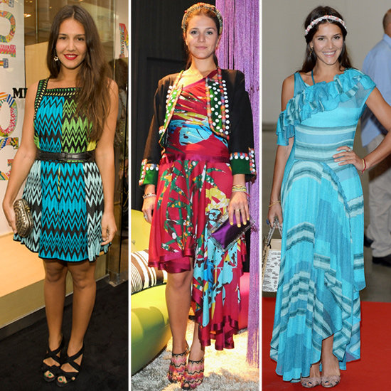 Draw Summer Inspiration From Margherita Missoni's Bright-Colored Dresses