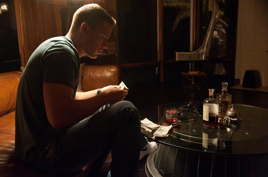 Channing Tatum in Magic Mike.