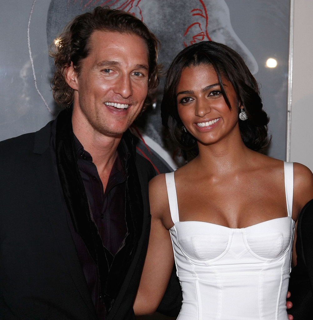 Matthew and Camila made a gorgeous couple at the launch of Dolce & Gabbana's new fragrance at NYC's Gramercy Park Hotel in December 2007.