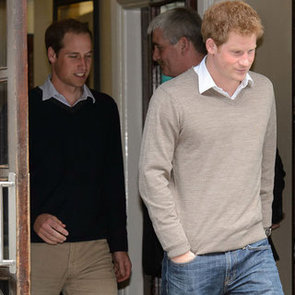 Prince William And Prince Harry Visit Their Grandfather In Hospital