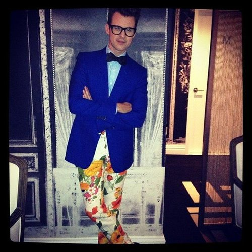We chatted with the ever-dapper Brad Goreski at his NYC eBay fashion event.