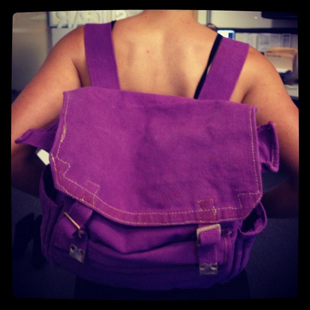 Remember these old school backpacks?! We all fought over this one...