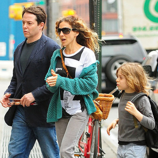 SJP and Matthew Broderick With James Wilkie Pictures
