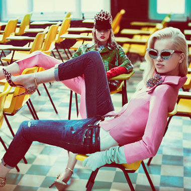 See The Autumn/Winter 2012 Ad Campaigns From Marc Jacobs, Givenchy And More