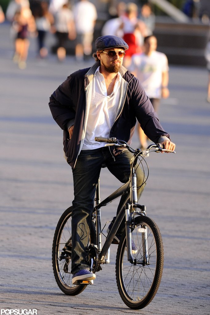 Leonardo DiCaprio enjoyed an afternoon in NYC.