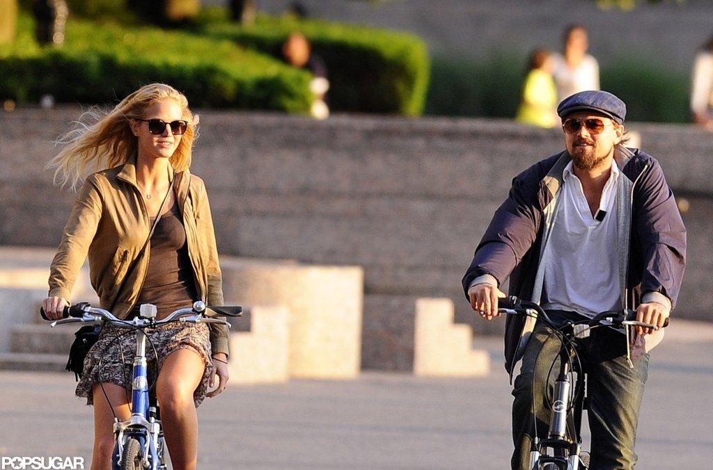 Leonardo DiCaprio and Erin Heatherton spent time together.