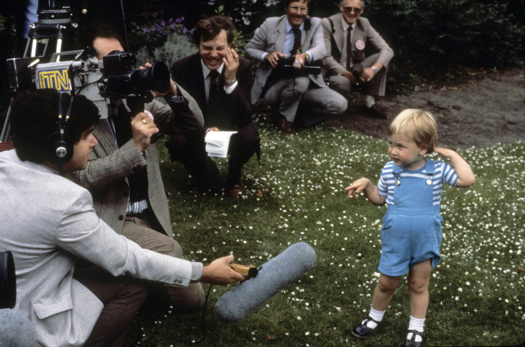 Prince William And Prince Harry Childhood Pictures
