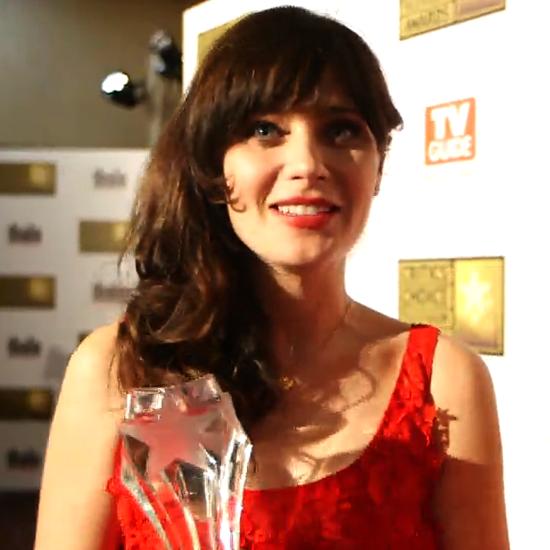 Zooey Deschanel Interview Critics Choice Awards (Video)