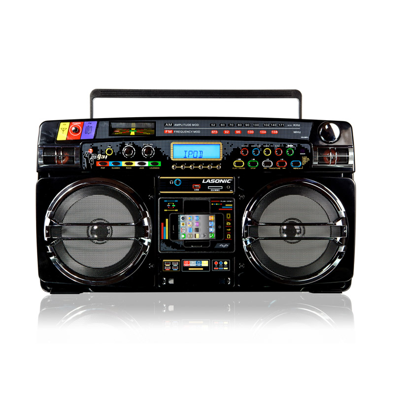 Lasonic i931x ghetto blaster boombox 150 play your favorite summer songs - Lasonic ghetto blaster i931x ...