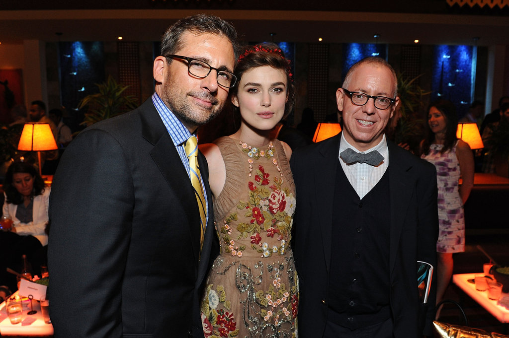 Keira Knightley, Steve Carell, and James Schamus got together at the LA premiere of Seeking a Friend For the End of the World.