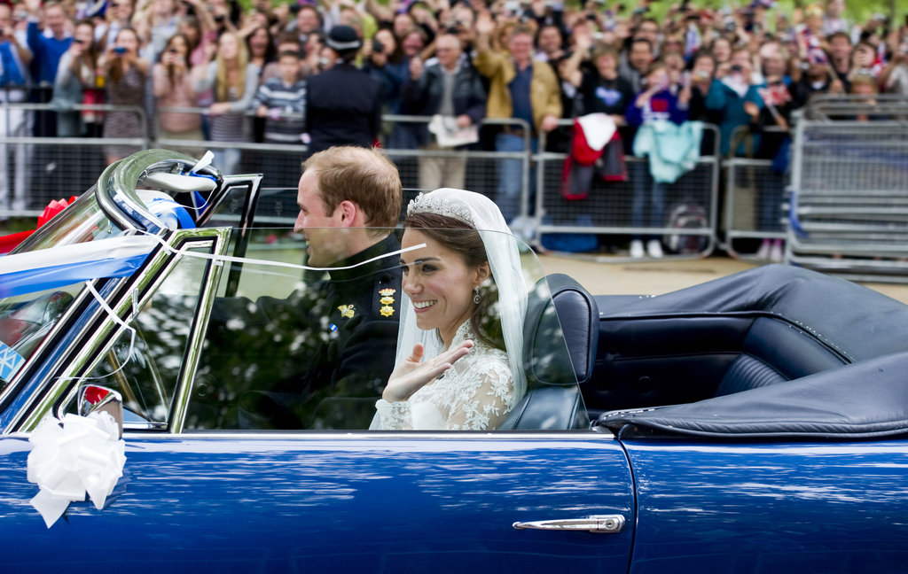 He Took Kate For a Sweet Newlywed Ride