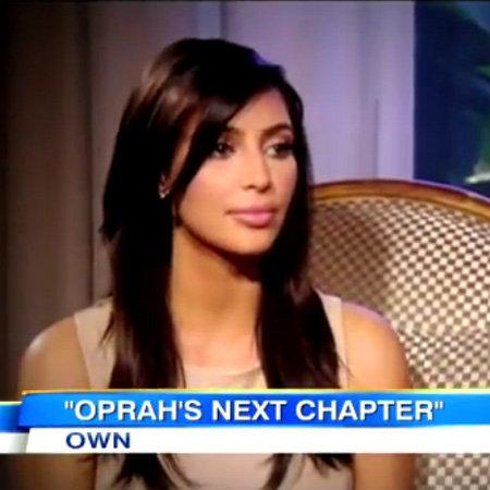 Kim Kardashian Interview With Oprah Winfrey