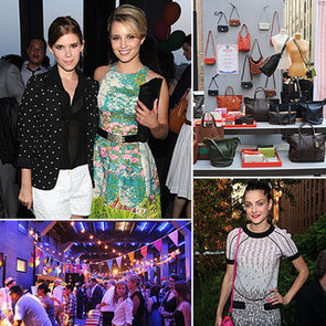 Diana Agron, Kate Mara and Jessica Stam Party Down in Style at Coach's Summer Carnival in NYC: Snoop Their Fun Frocks!