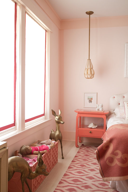 Bedside Tables and Window Treatments