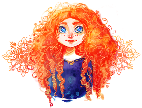 Watercolor Merida