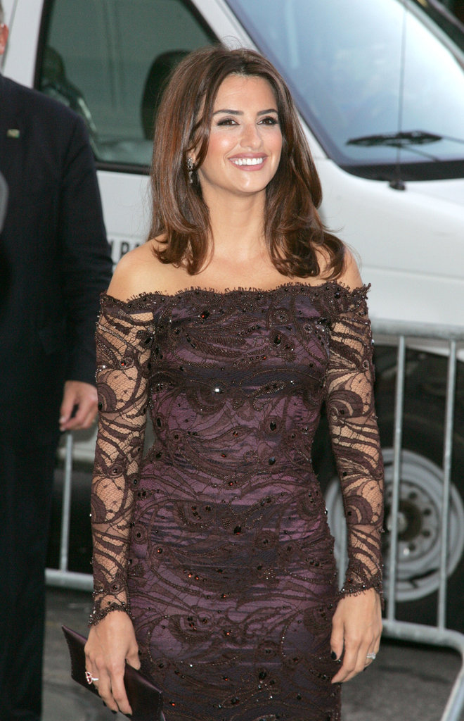 Penelope Cruz screened To Rome With Love in NYC.