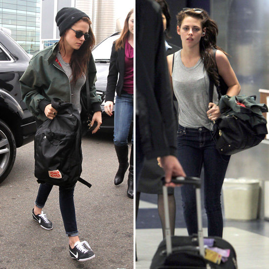 Kristen Stewart Pictures at Sydney Airport and LAX