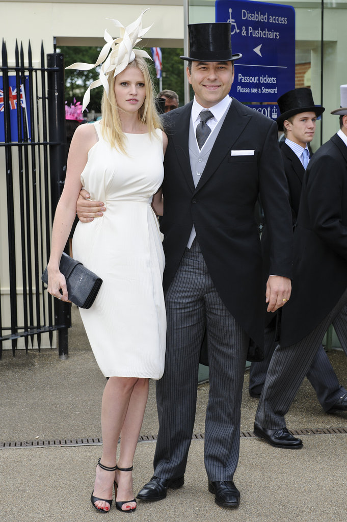 Seriously Though, Could Lara Stone and David Walliams Get Any Cuter?