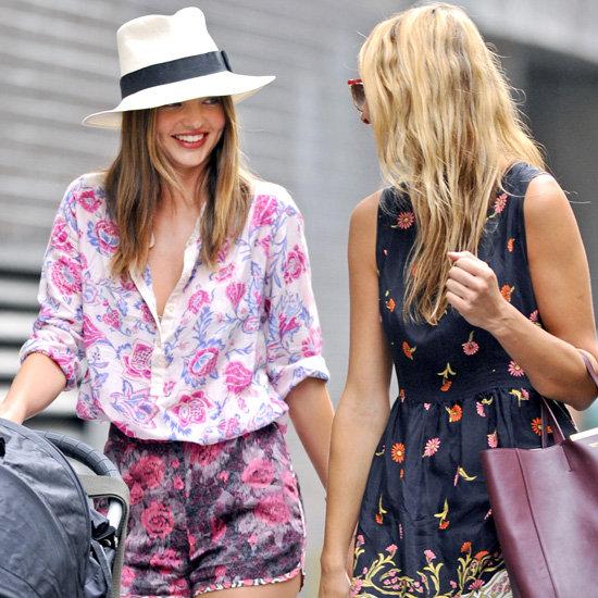 Miranda Kerr Floral Shorts