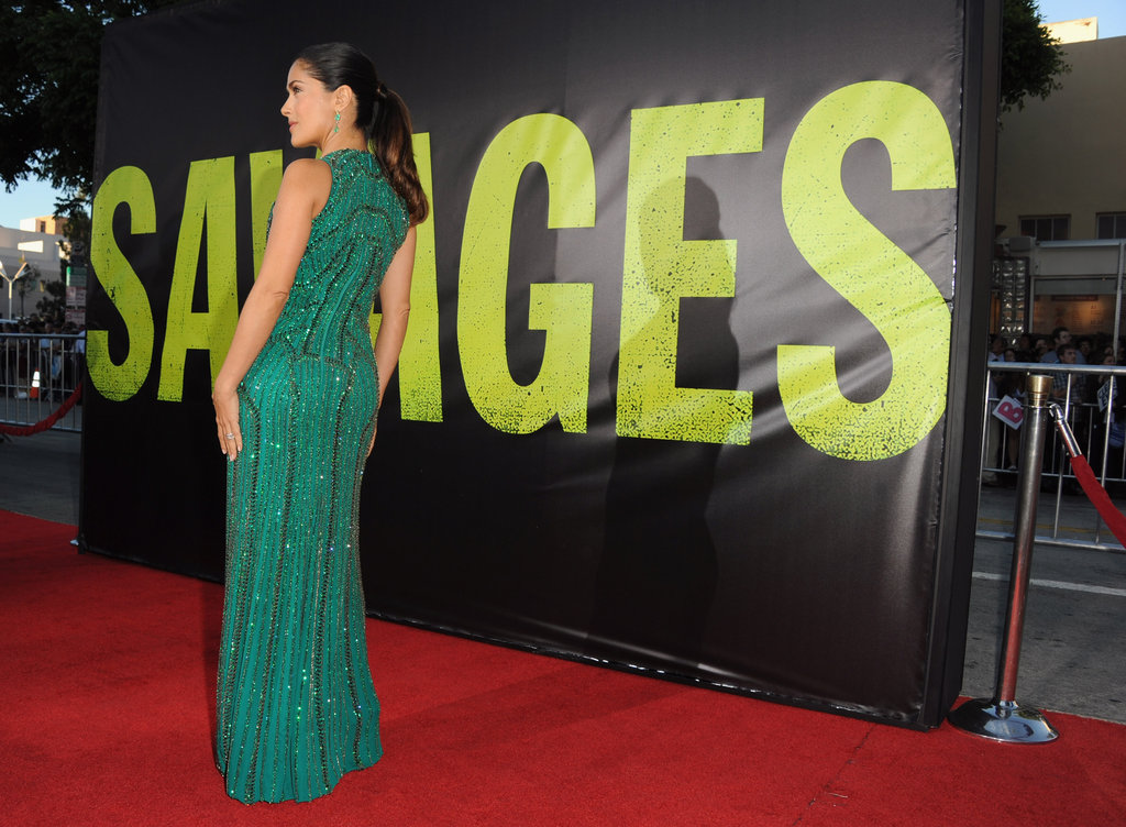 Blake and Salma Go Supersexy For Savages
