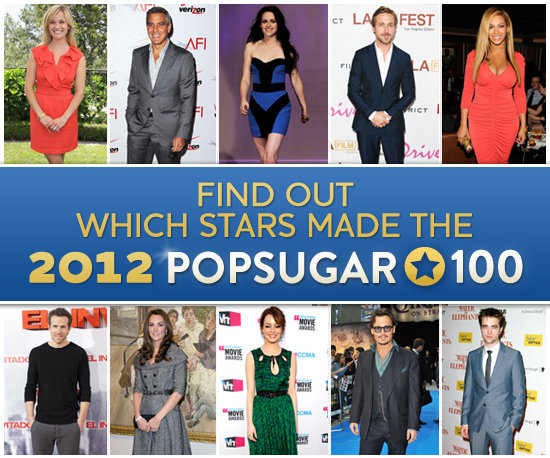 Welcome to the 2012 POPSUGAR 100!