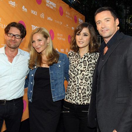 2012 Tropfest New York Celebrity Pictures of Hugh Jackman, Rose Byrne, Jennifer Westfeldt and More