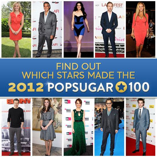 2012 PopSugar 100 Announcement