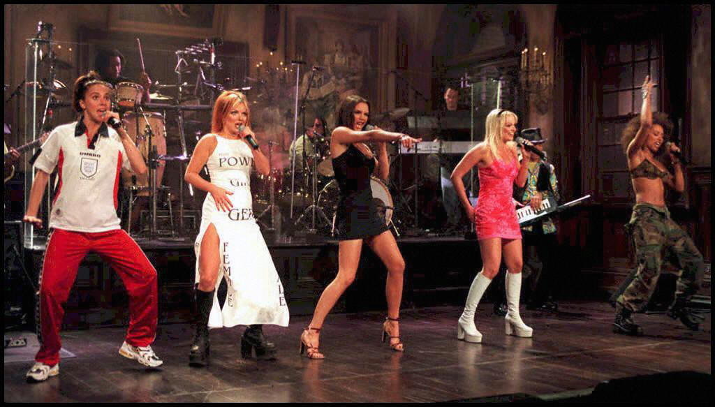The pop group performed live during an April 1997 episode of SNL.