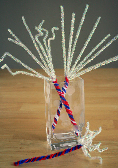 Make This: Pipe Cleaner Sparklers