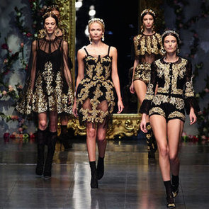 Dolce and Gabbana Stage First Couture Show 2012