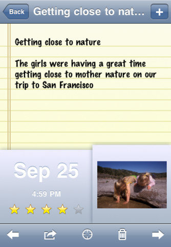 OurKids: Family Journal, Memory, & Baby Book iPhone App ($4)