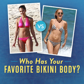 Celebrity Bikini Picture Bracket Contest